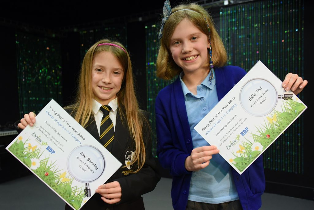 Briar Chemicals Poetry Competition with Jess French